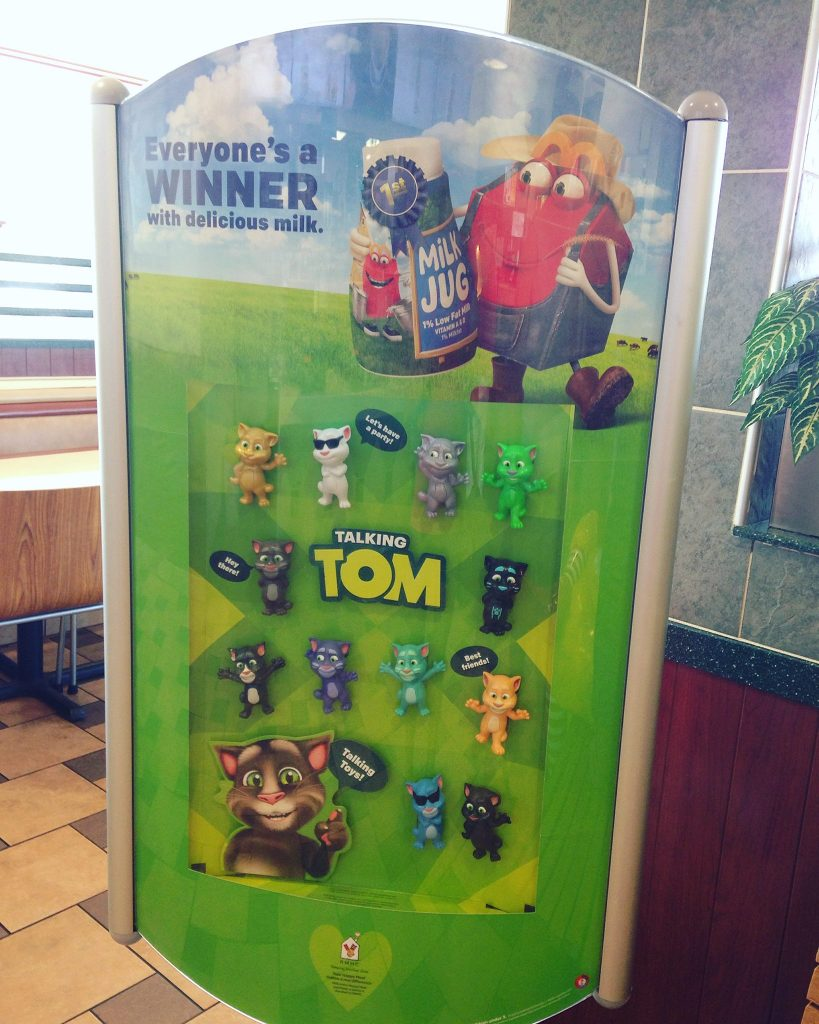 Talking Tom Happy Meal toy